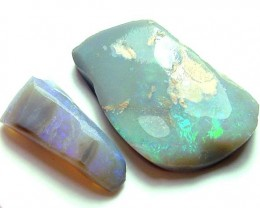 BLACK OPAL ROUGH PARCEL L. RIDGE  21 CTS  DT-7219