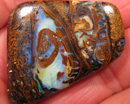YES COLOUR,YES PATTERN,YES BEAUTIFUL!DRILLED OPAL,69.35.CTS.