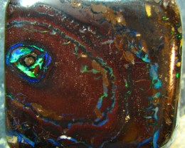 "LIKE A ""FIREY EYE"" NATURAL BEAUTIFUL BOULDER OPAL 83.55 CTS A7357"