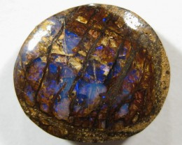 OpalWeb - OPALIZED WOOD / FOSSIL - 15.45Cts