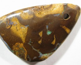 Pre-Drilled *Ready to make a Opal Pendant.