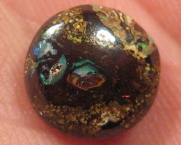 SALE; SIDE DRILLED BOULDER MATRIX OPAL,4.40.CTS.FROM CO.