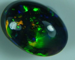 LOVELY LIGHTNING RIDGE BLACK OPAL1.00 CTS   (x7)