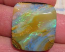Brilliant Polished Boulder Opal.
