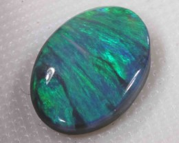 3.55 CT BRIGHT BLACK OPAL FROM LR
