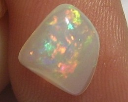 1.30ct MARVELLOUS ETHIOPIAN WELLO CRYSTAL GEM OPAL RED GREEN FIRE