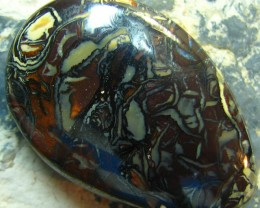 DOUBLE SIDED PATTERN BOULDER OPAL 63.30 CTS A7902