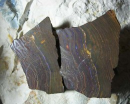 QUALITY ROUGHT UNTOUCHED SPLIT BOULDER OPAL .