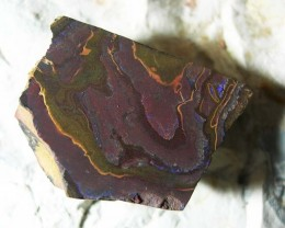 NEW FOUND QUALITY ROUGHT UNTOUCHED SPLIT BOULDER OPAL .