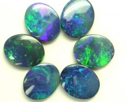 Free shipping! - Opal doublets (R052) 9.39cts