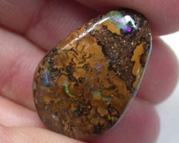 FREE SHIP  SOLID NATURAL YOWAH OPAL  13.9CARATS  GT 2237