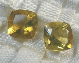 LIGHTNING RIDGE FACETED OPAL SUN CRYSTAL PAIR #LF17/326