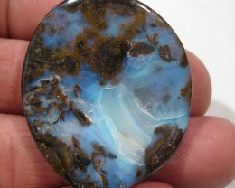 Beautiful faced Boulder Opal ready to set as a Pendant.