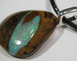 Ready to Wear or Great for a Gift. Australian Opal Pendant.