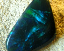 LOVELY LIGHTNING RIDGE BLACK OPAL 1.00CTS   (A63)