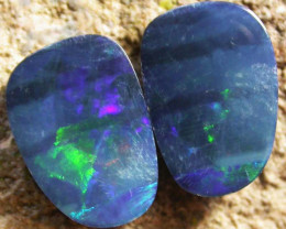 4.50 cts. Beautiful Opal Doublets (R479)