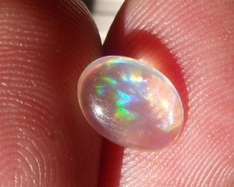 FreeForm cabochon Fire Mexican Opal 0.92 Cts