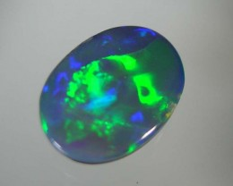 LIGHTNING RIDGE BLACK OPAL DOUBLET #GDO/199
