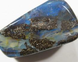 Drilled Boulder Opal From Queensland Australia.