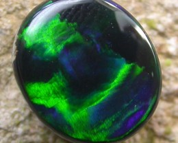 3.53 cts Dark Bright Black Opal (RCO08)