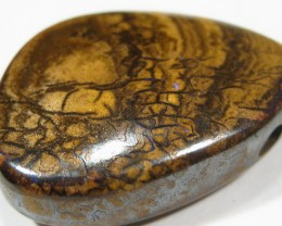 A Little piece of Australia- Drilled Boulder Opal.