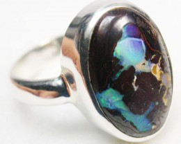 RING SIZE 8 KOROIT OPAL RING-FACTORY DIRECT 32.00 CTS SOJ493