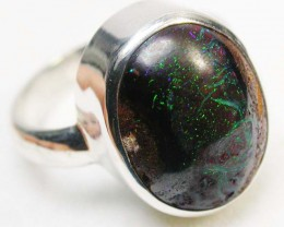 RING SIZE 8 KOROIT OPAL RING-FACTORY DIRECT 36.50 CTS SOJ496