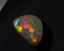 Gawk at my Opals 5/5 Hexagonal FishScale Honeycomb Welo Opal