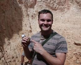 Me mining at Yowah