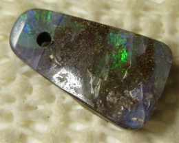 DRILLED VALUE AUSTRALIAN BOULDER OPAL,5.55.CTS FROM O/L