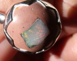 MATRIX OPAL GEM TAXCO RING SIZE 9.75
