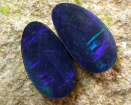 2.00 cts Opal Doublet Pair (R1242)