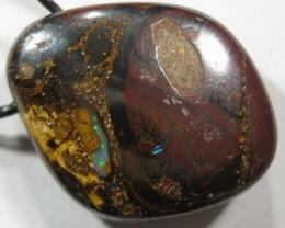 OpalWeb - Boulder Opal Pendant - 40.60Cts