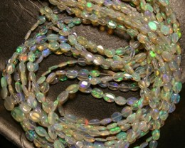 Auction is for 11 strands of Wollo gem opal crystal beads.