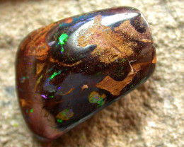 24.25 cts Bright Natural Earthy Bolder Opal (RB178)