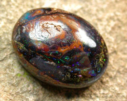 25.35 cts Bright Natural Earthy Bolder Opal (RB179)