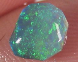 # .75 CTS FIREY ELECTRIC GREEN CABOCHON RUB