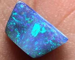STUNNINF BLUE FIRE SOLID BOULDER OPAL 1.60 CTS GR1673
