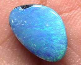 GORGEOUS BABY BLUE FLASH SOLID BOULDER OPAL 2.10 CTS GR1675
