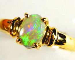 GEM CRYSTAL OPAL RING SIZE 6 SCO511