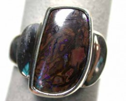 BOULDER OPAL LARGE RING SIZE 10.5  K297