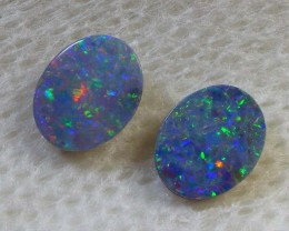 CALIBRATED 2 PCS QUALITY DOUBLET OPAL (DB/ 37 )