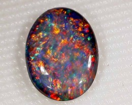 Nice Speckled Pattern Multi  1.8 carats   TOP STONE