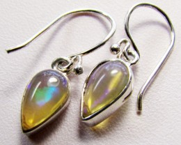 Ethopian Opal Earrings