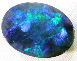 N3 QUALITY BLACK OPAL L RIDGE GEM GRADE 8.60 CTS INV-41