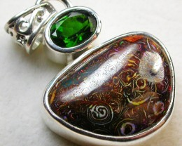 25.00CTS  KORIOT OPAL+CHROME DIOPSIDE-FACTORY DIRECT SOJ1025