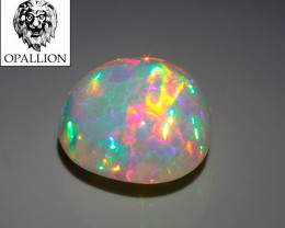 SUPER GEM WELO Cabochon Holographic + Honeycomb / 8,9 cts !