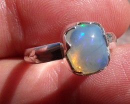 NATURA GEM & SILVER RING SIZE 7
