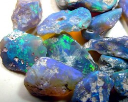 BLACK OPAL ROUGH  L. RIDGE 240  CTS  DT-CAR 3 OZ