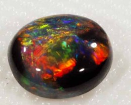 BRIGHT BLACK OPAL FROM LR - 1.23 CTS